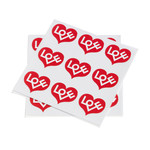 Vitra - Sticker Love Heart, rot