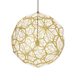 Tom Dixon - Etch Web Pendelleuchte, Messing