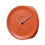Alessi - Ora in Eckenuhr, orange