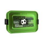 Sigg - Aluminium Box Brotdose Plus S Football