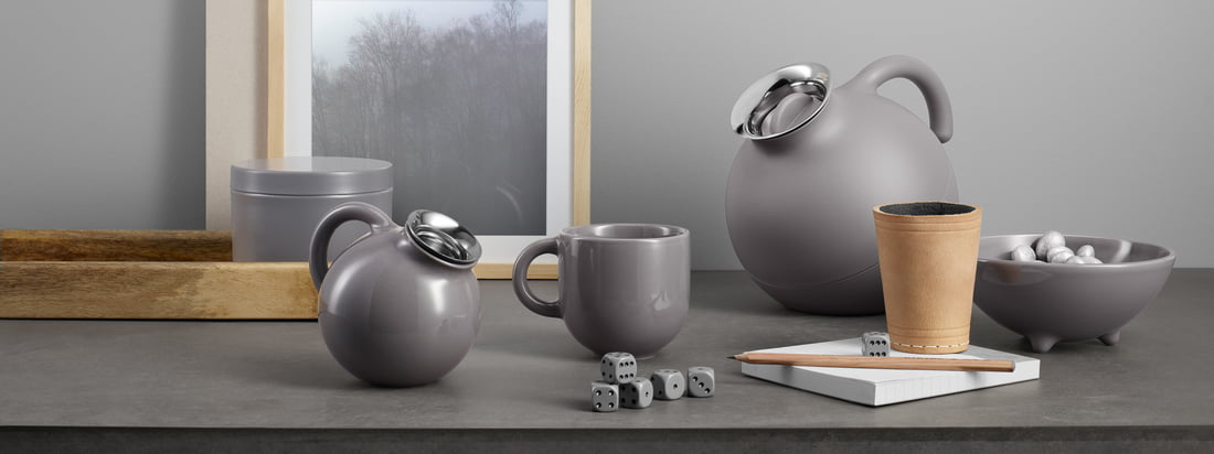 Eva Solo - Globe Kollektion, grey