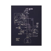 Holstee - Wiring Diagram Poster