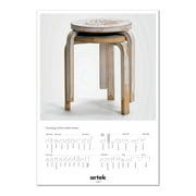 Artek - 2nd Cycle Stool 60 Poster