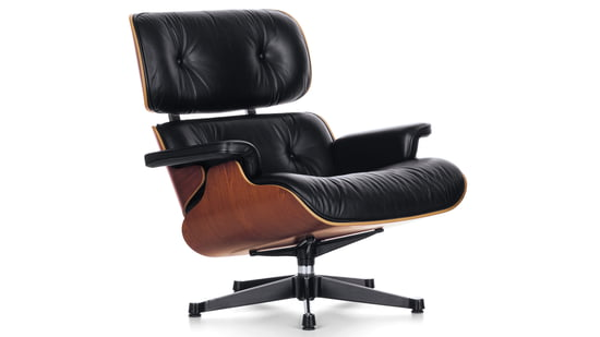 Besonders bequem der Vitra Lounge Chair
