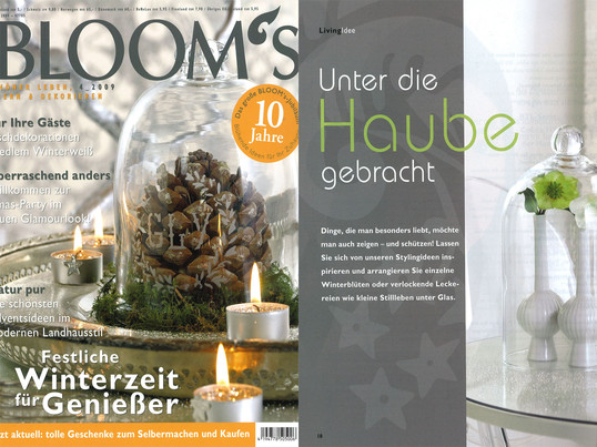 Cover + Artikel: Bloom´s - 2009 Winter Seite 18 - Louis Ghost