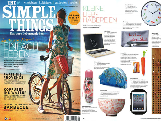 "Zeitschrift ""Simple Things"", Aug/Sept 2013"
