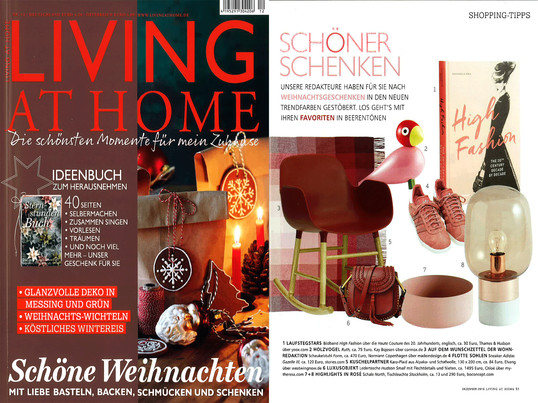 Living at home, Nr. 12 / 2016 Inhalt