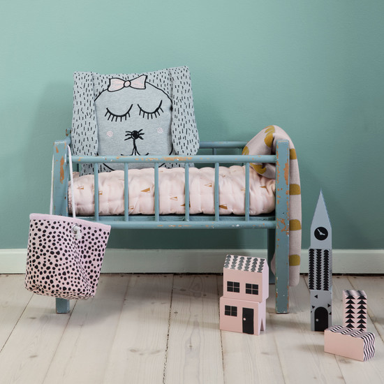 "Kissen ""Little Ms. Rabbit"" von ferm Living"
