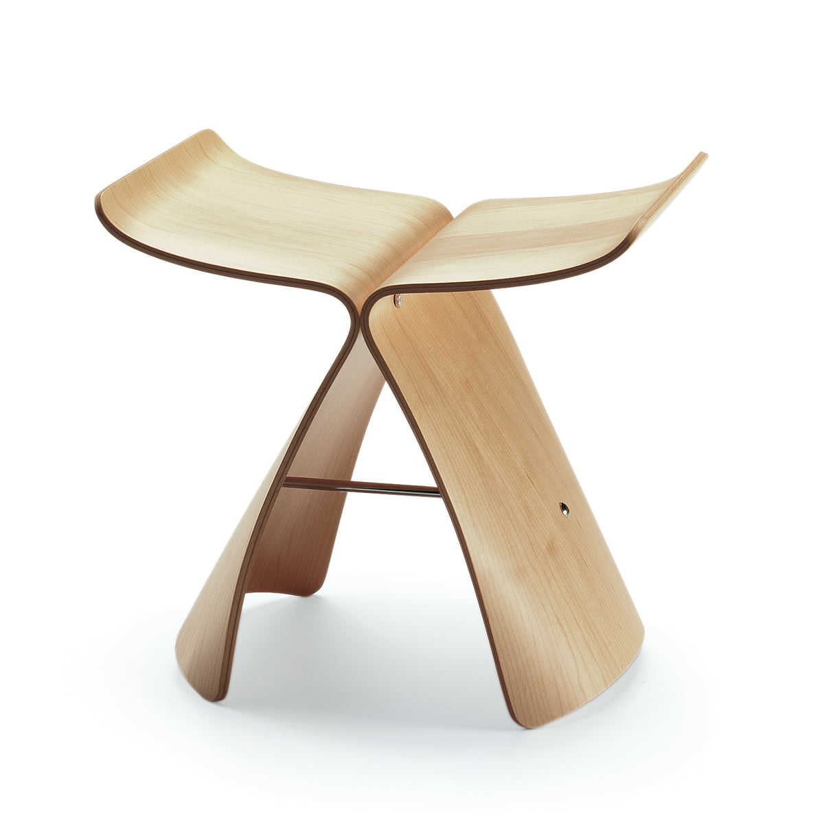Butterfly stool ahorn frei