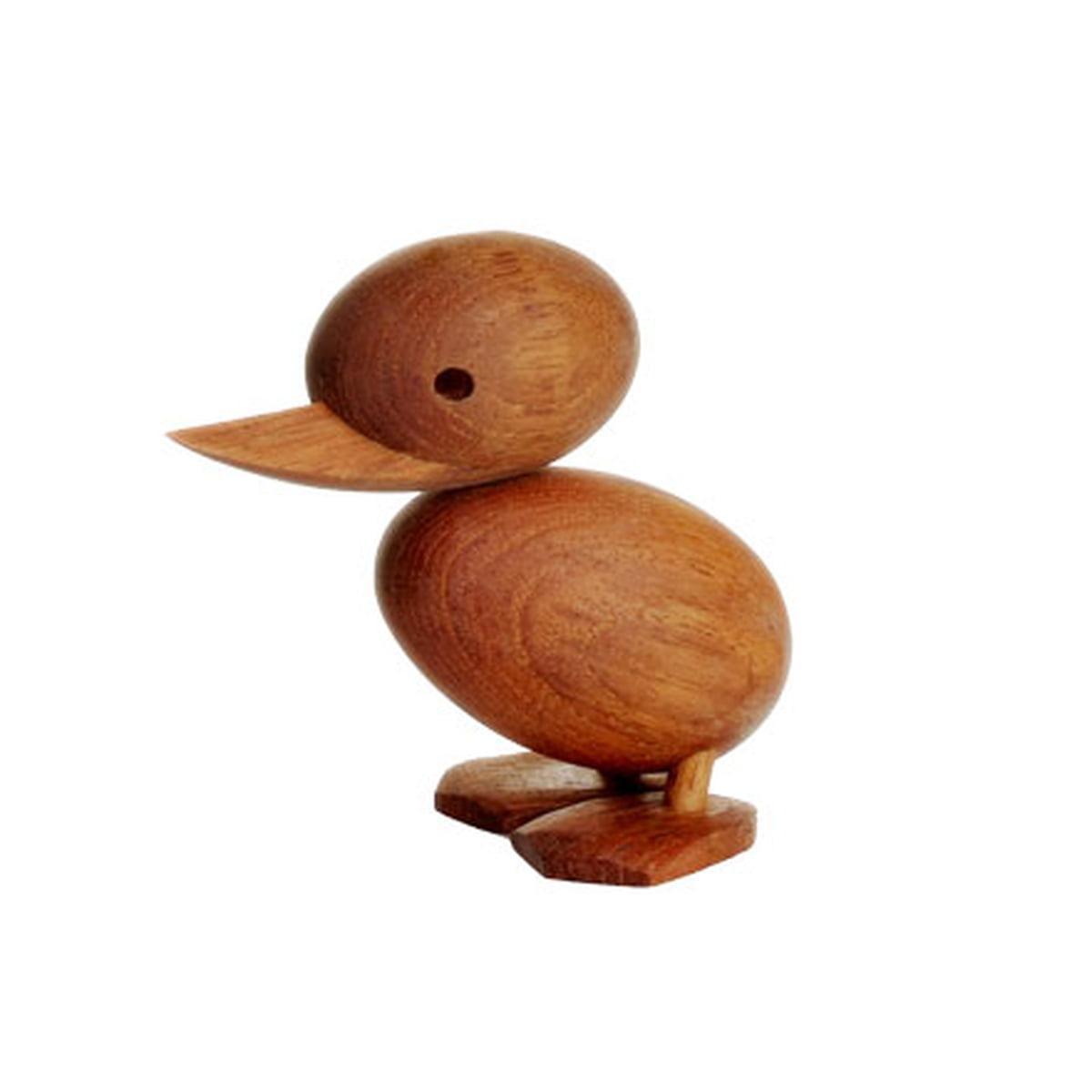 Duckling holzfigur entenkueken freisteller