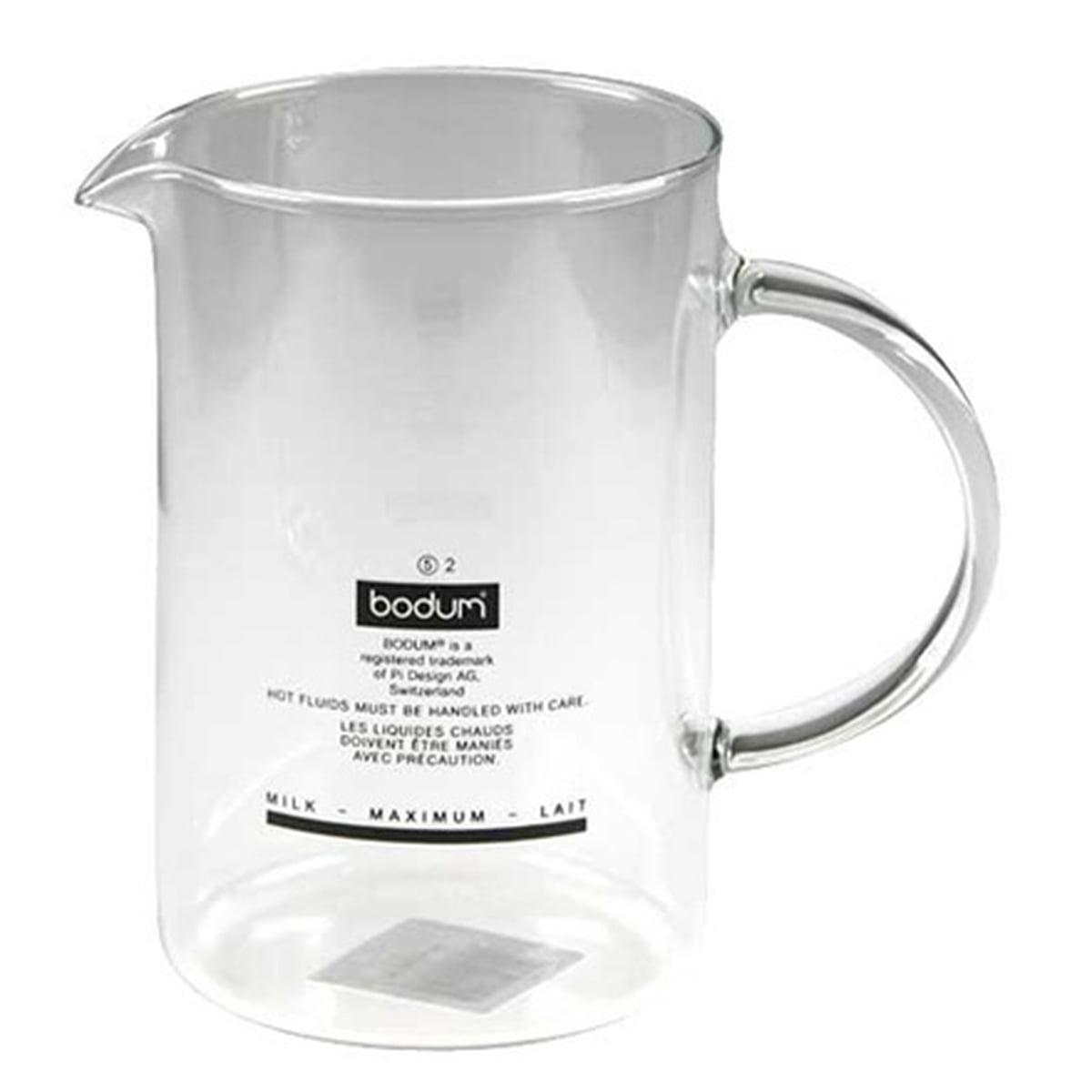 Bodum - SPARE GLASS zu Chambord und Latteo Milchaufschäumer | Küche und Esszimmer > Kaffee und Tee > Milchaufschäumer | Transparent -  durchsichtig | Bodum