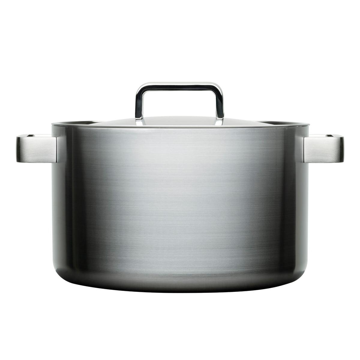 Iittala - Tools Topf mit Deckel, 26 cm   Küche und Esszimmer > Kochen und Backen > Töpfe   Iittala