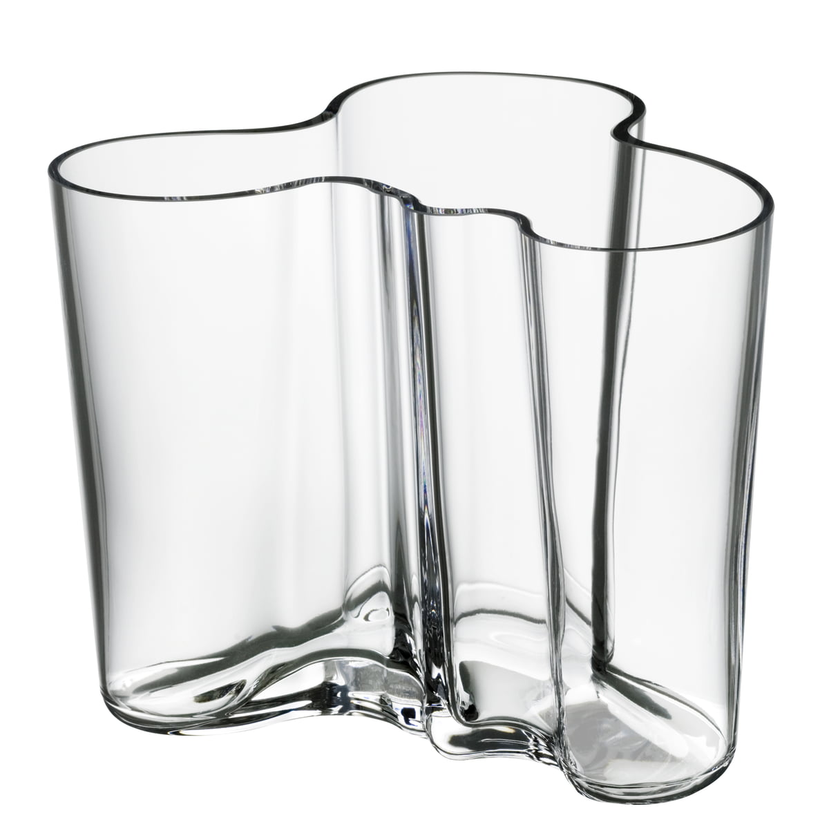 Aalto vase 120mm clear
