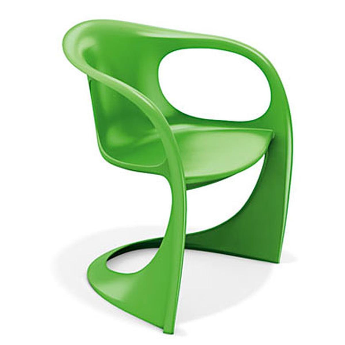 Casala - Casalino Armlehnstuhl 2007/10, grün   Küche und Esszimmer > Stühle und Hocker > Armlehnstühle   Grün   Polyamid glasfaserverstärkt   Casala