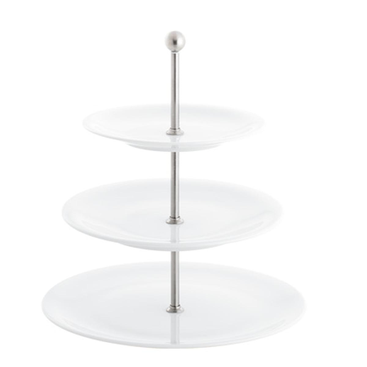 Kahla - Update, Etagere, 3tlg., weiß | Küche und Esszimmer > Aufbewahrung > Etageren | Weiß | Porzellan | Kahla