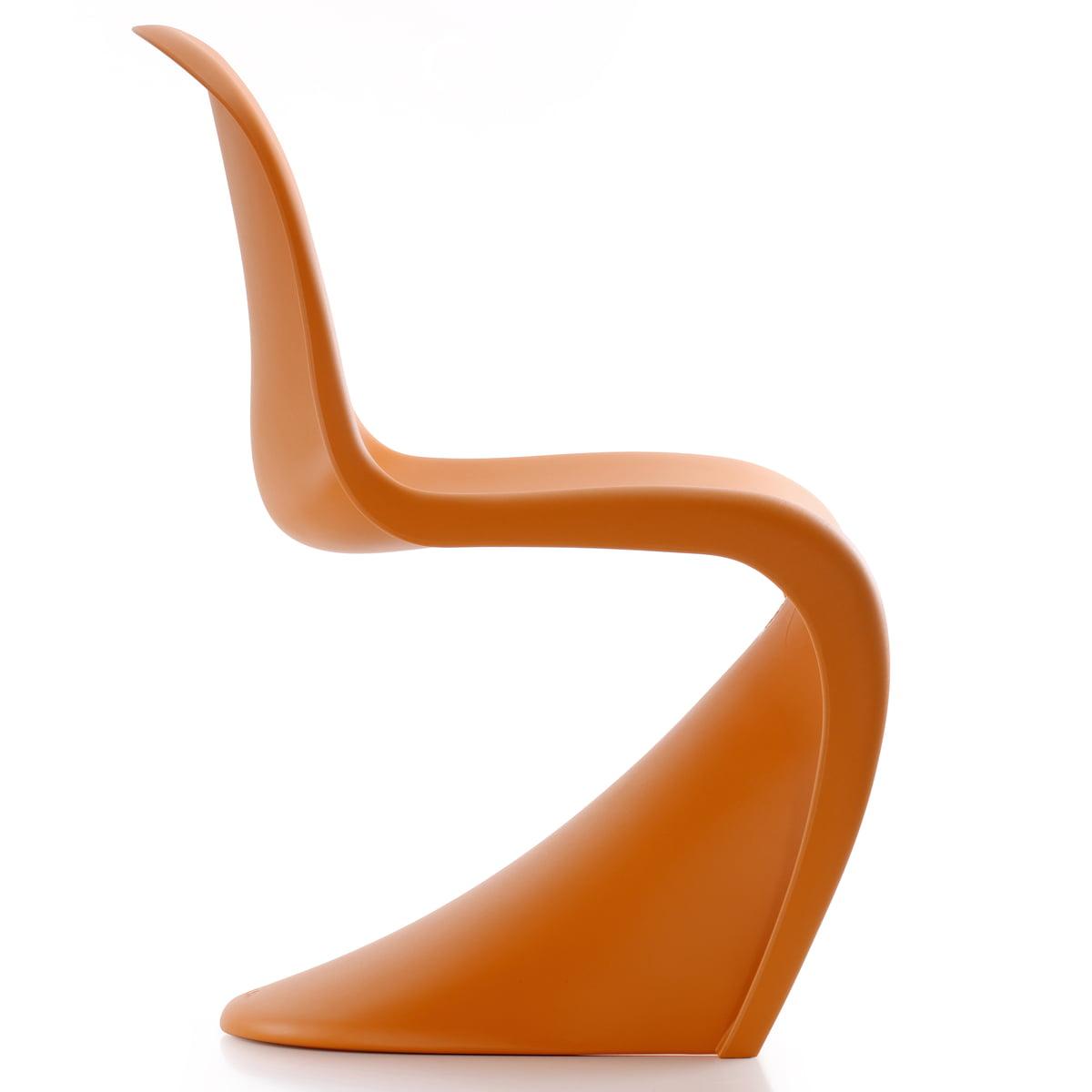 Panton chair orange