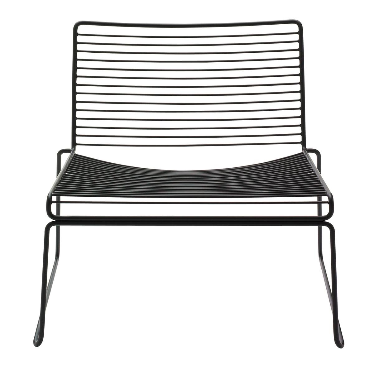 Hay - Hee Lounge Chair, schwarz | Wohnzimmer > Sessel > Loungesessel | Schwarz | Hay