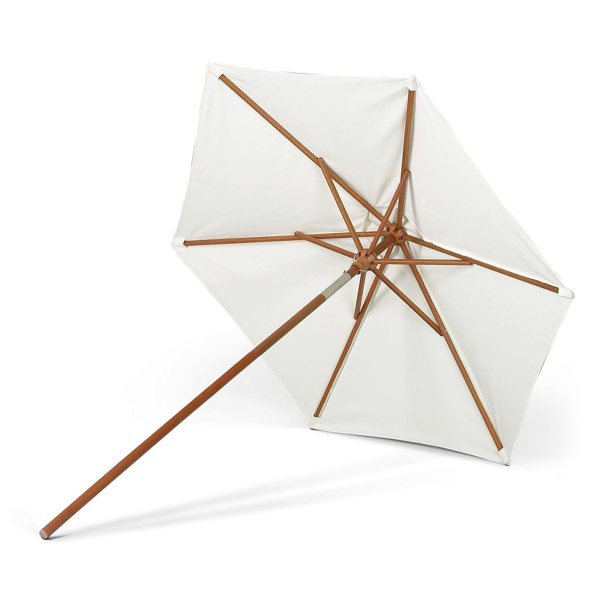 Skagerak - Messina Sonnenschirm, Ø 210 cm | Garten > Sonnenschirme und Markisen | Weiß | Stoff | Skagerak
