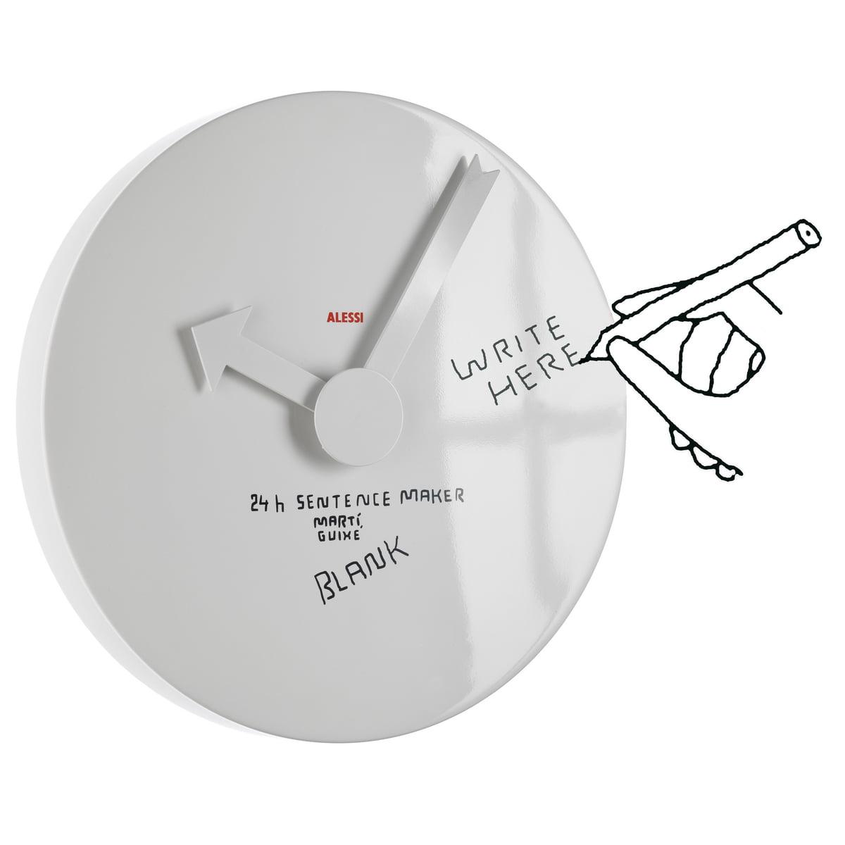 Blank wall clock anwendung