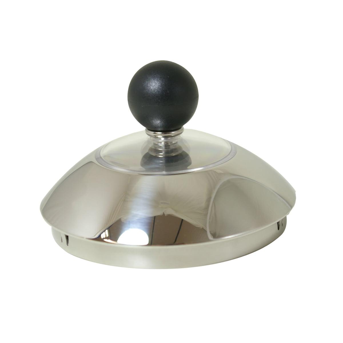 Alessi - Ersatzteil Deckel zu Wasserkessel 9093 FM MG32 AZ | Küche und Esszimmer > Küchengeräte | Edelstahl | Edelstahl | Alessi