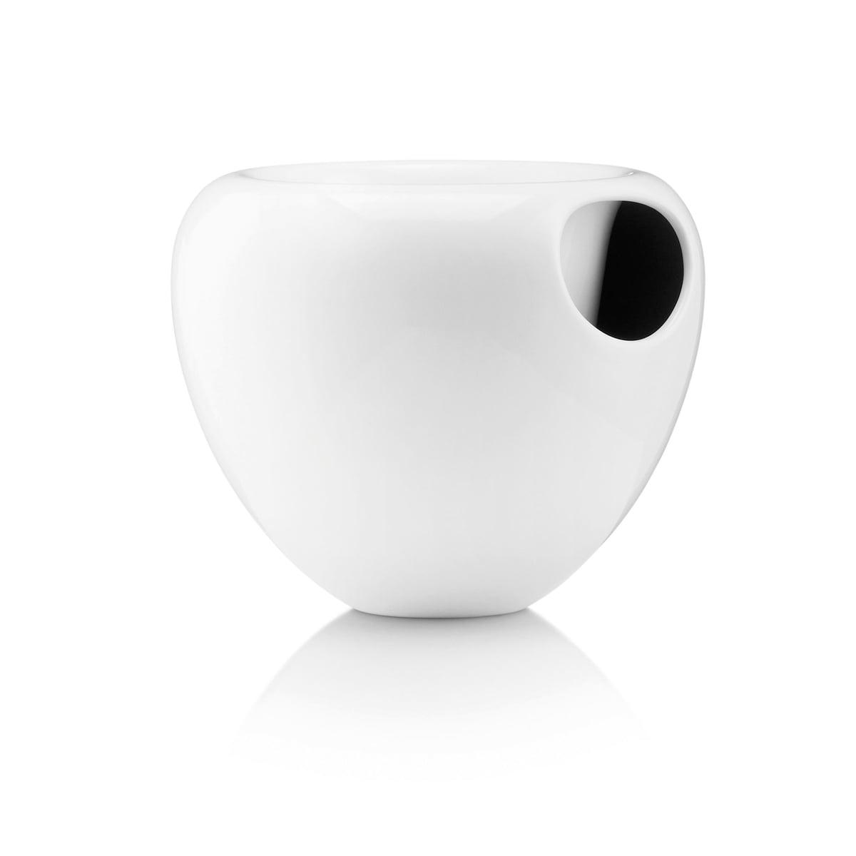 Eva Solo - Orchideentopf, weiß | Garten > Pflanzen | Weiß | Glasierte fayence-keramik | Eva Solo