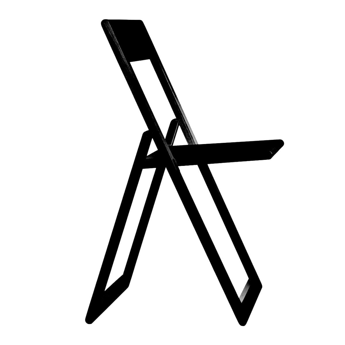 Magis - Aviva Klappstuhl| schwarz | Küche und Esszimmer > Stühle und Hocker > Klappstühle | Magis