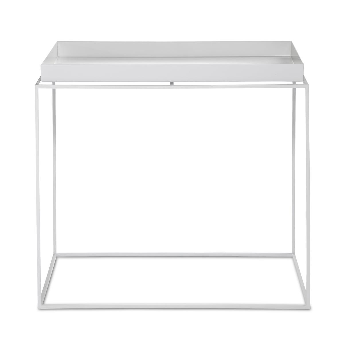 Tray table white 40x60