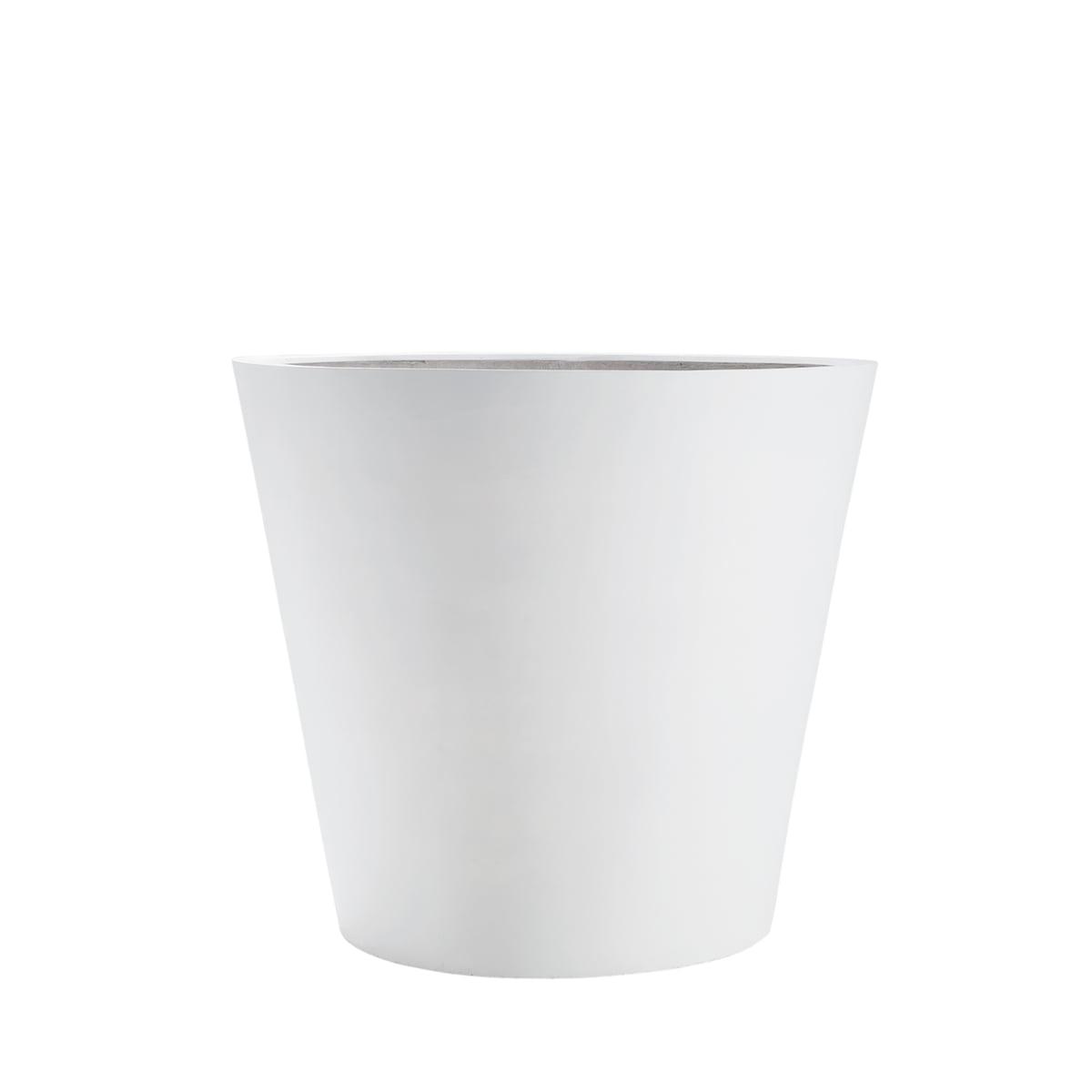 Amei - Der Runde Pflanzkübel, S, weiß | Dekoration > Dekopflanzen > Pflanzenkübel | Weiß | Stonefiber (mixtur als polyesterharz und gemahlenem stein mit strängen aus fiberglas) | Amei