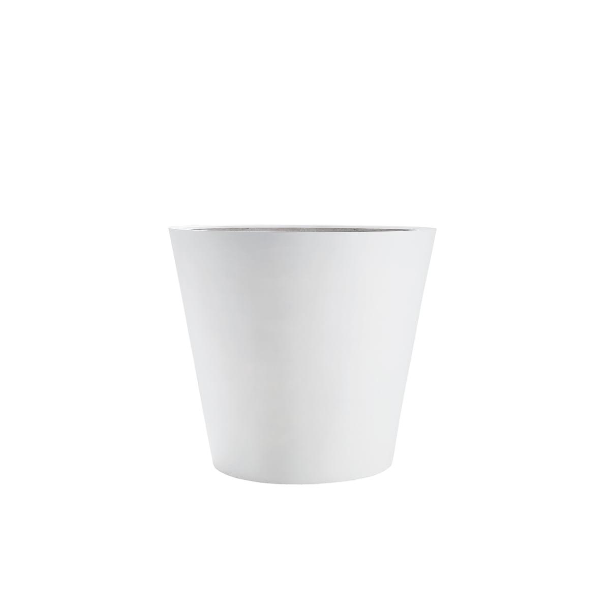 Amei - Der Runde Pflanzkübel, XXS, weiß | Dekoration > Dekopflanzen > Pflanzenkübel | Amei
