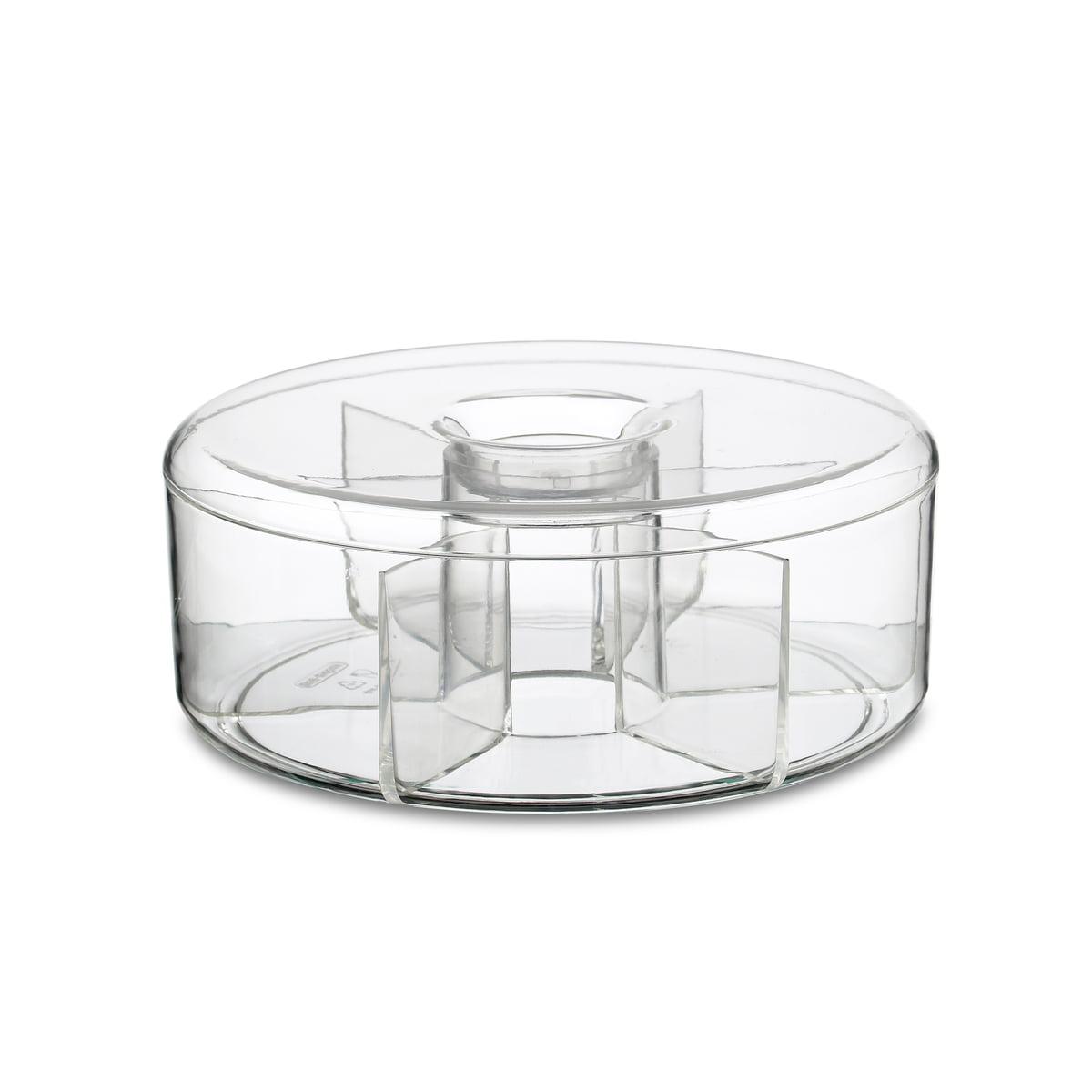 Rosti Mepal - Runde Vorratsdose für Teebeutel | Küche und Esszimmer | Transparent | Acryl | Rosti Mepal