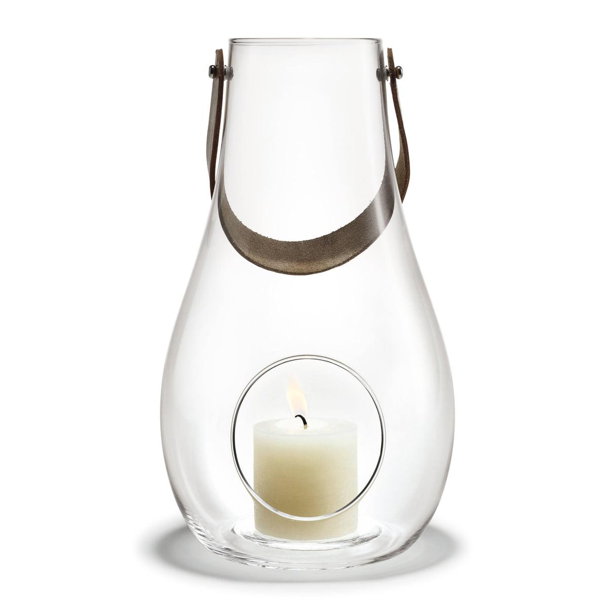 Holmegaard - Design with light Laterne H 29 cm, klar