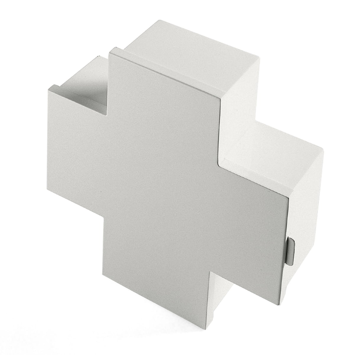 Cappellini - Progetto Oggetto Medizinschrank PO/9208B, weiß | Bad > Badmöbel > Medizinschränke | Weiß | Lackiertes metall | Cappellini