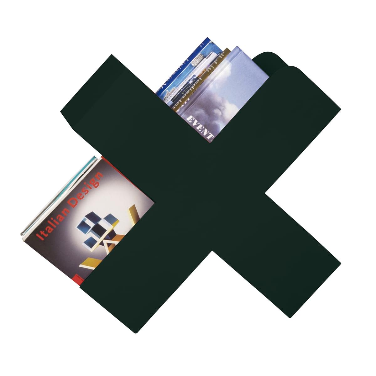 Mox - Bukan Zeitschriftenhalter, schwarz | Dekoration > Aufbewahrung und Ordnung > Zeitungsständer | Schwarz | Stahlblech pulverbeschichtet | Mox