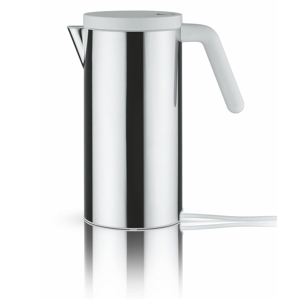 Alessi - Hot.it elektrischer Wasserkocher, 1.4 l, weiß   Küche und Esszimmer > Küchengeräte > Wasserkocher   Weiß   Alessi