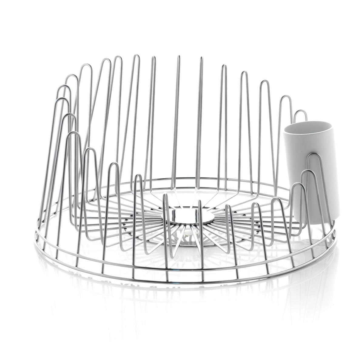 A di Alessi - A Tempo Abtropfgestell | Küche und Esszimmer > Küchen-Zubehör > Halter und Haken | Alessi
