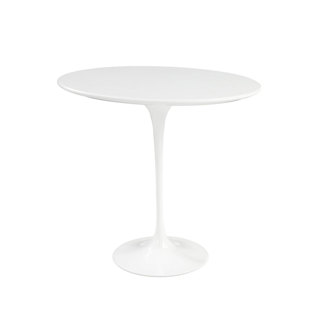 Knoll International Knoll - Saarinen Tulip Beistelltisch rund, Laminat weiß / weiß | Baumarkt > Bodenbeläge | Weiß | Knoll International