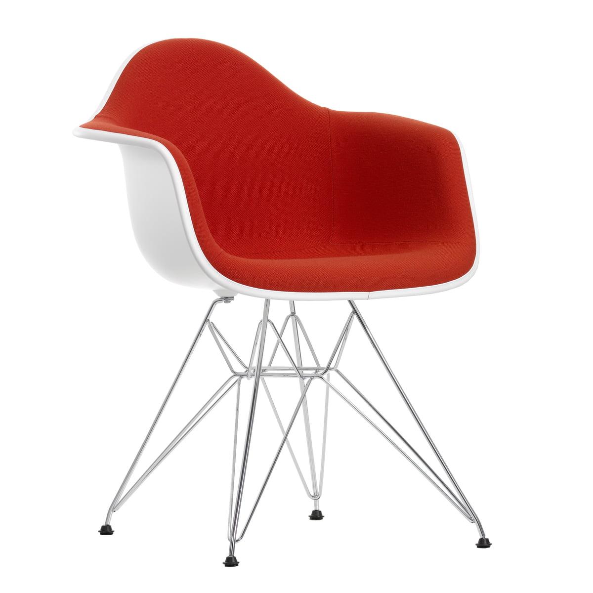 Eames plastic armchair rot orange frei
