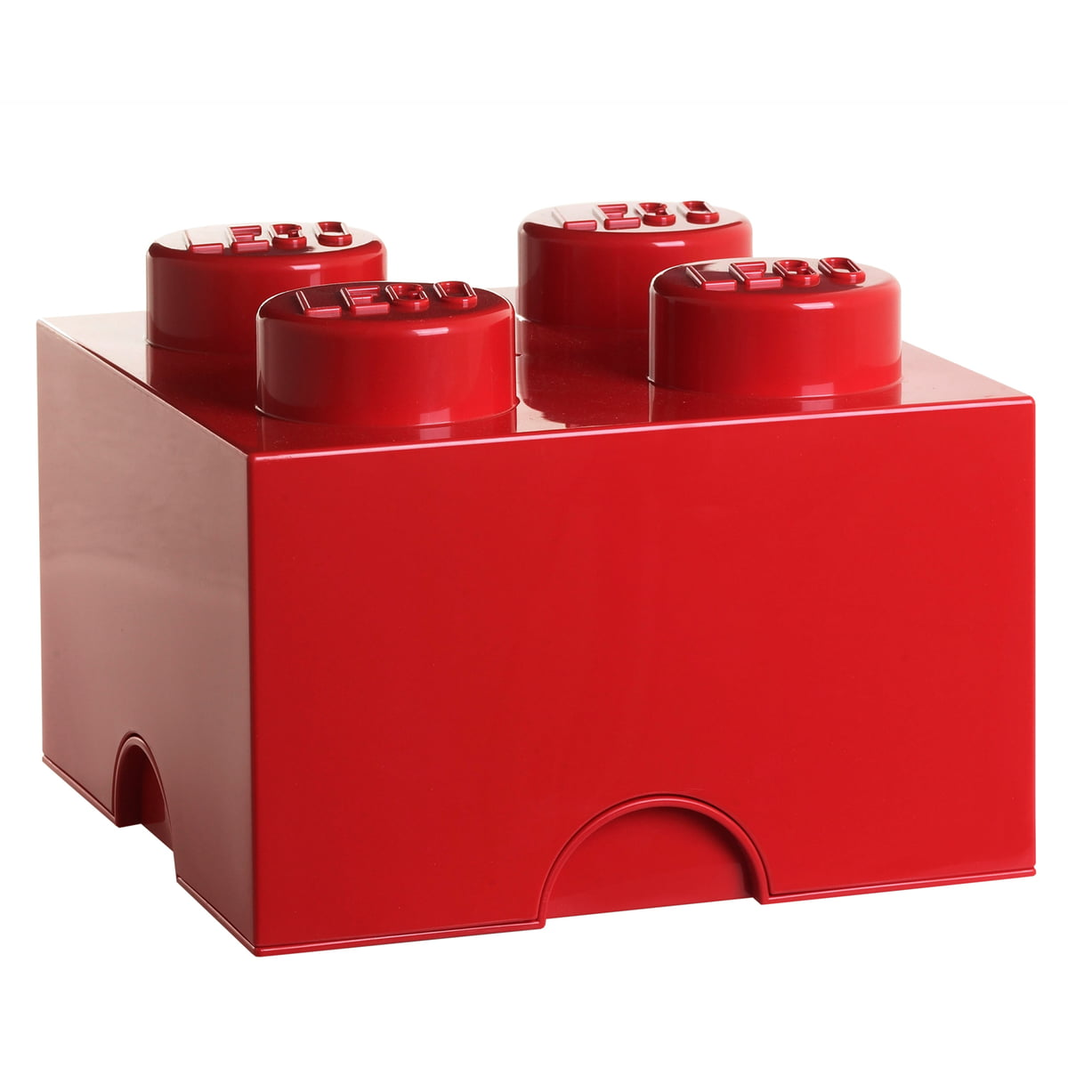 Lego - Storage Brick 4, rot   Kinderzimmer   Rot   Lego
