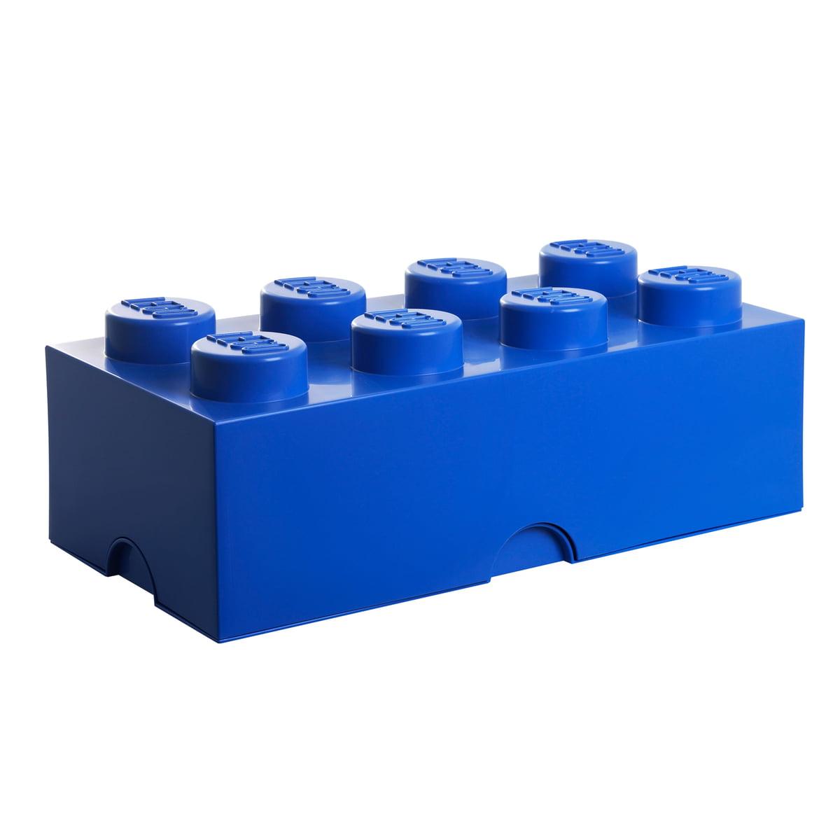 Lego - Storage Brick 8, blau | Kinderzimmer > Spielzeuge > Sonstige Spielzeuge | Blau | Kunststoff | Lego