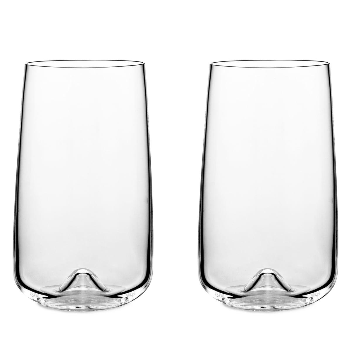 Normann Copenhagen - Longdrink-Gläser, 2er-Set | Küche und Esszimmer > Besteck und Geschirr > Gläser | Transparent | Glas | Normann Copenhagen