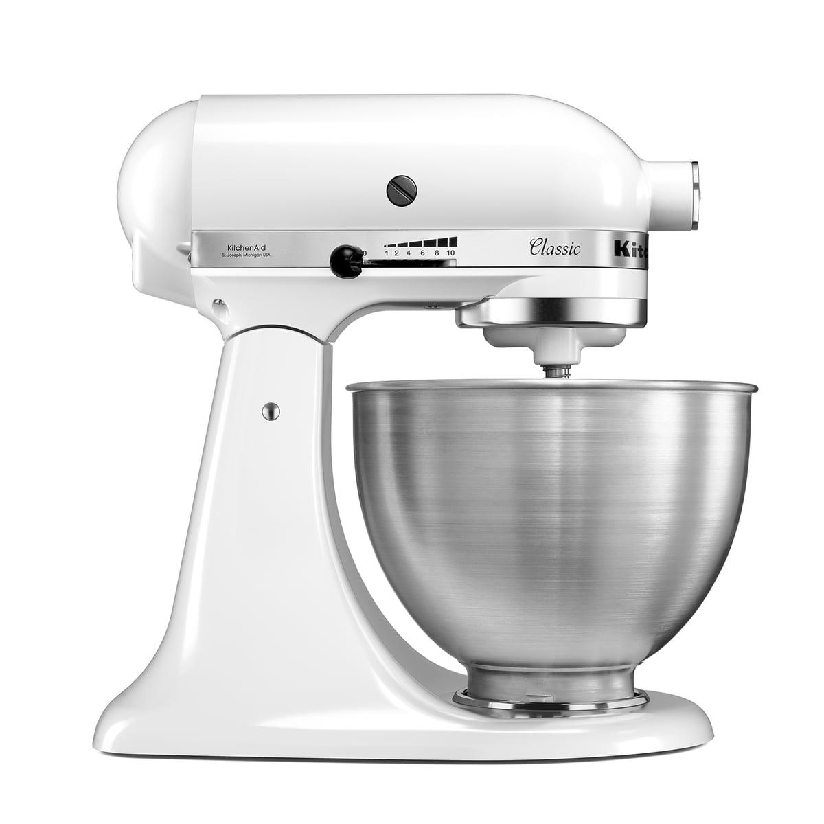Kitchen Aid KitchenAid - Classic Küchenmaschine 4.3 l, weiß | Küche und Esszimmer > Küchengeräte | Weiß | Ganzmetallgehäuse | Kitchen Aid