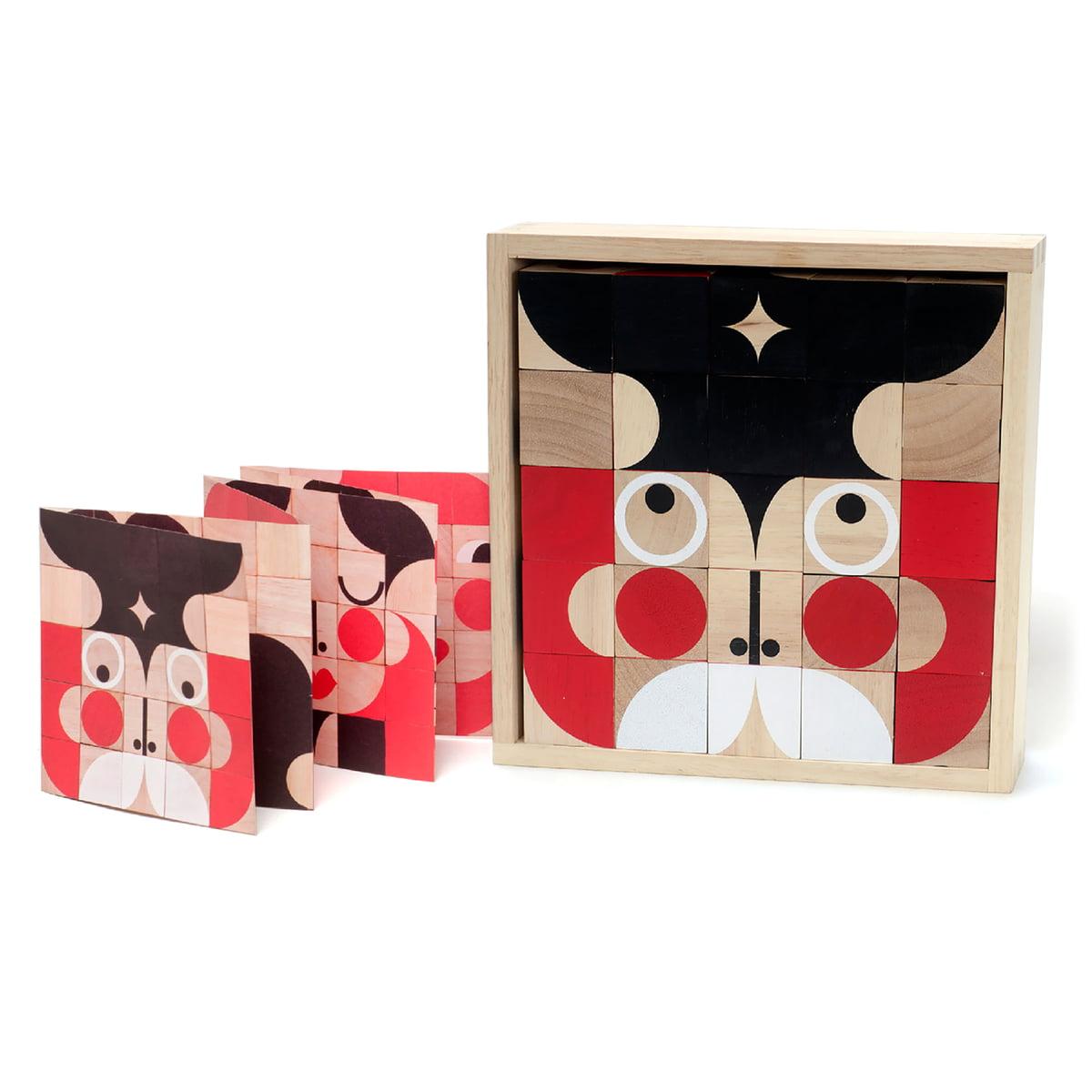Miller Goodman - Deluxe FaceMaker Holzspielzeug   Kinderzimmer > Spielzeuge > Holzspielzeuge   Verschiedene farben   Holz   Miller Goodman