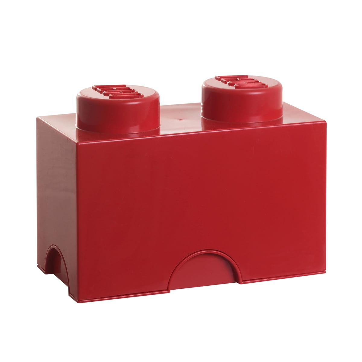 Lego - Storage Brick 2, rot | Kinderzimmer > Spielzeuge > Sonstige Spielzeuge | Rot | Polypropylen (pp) | Lego