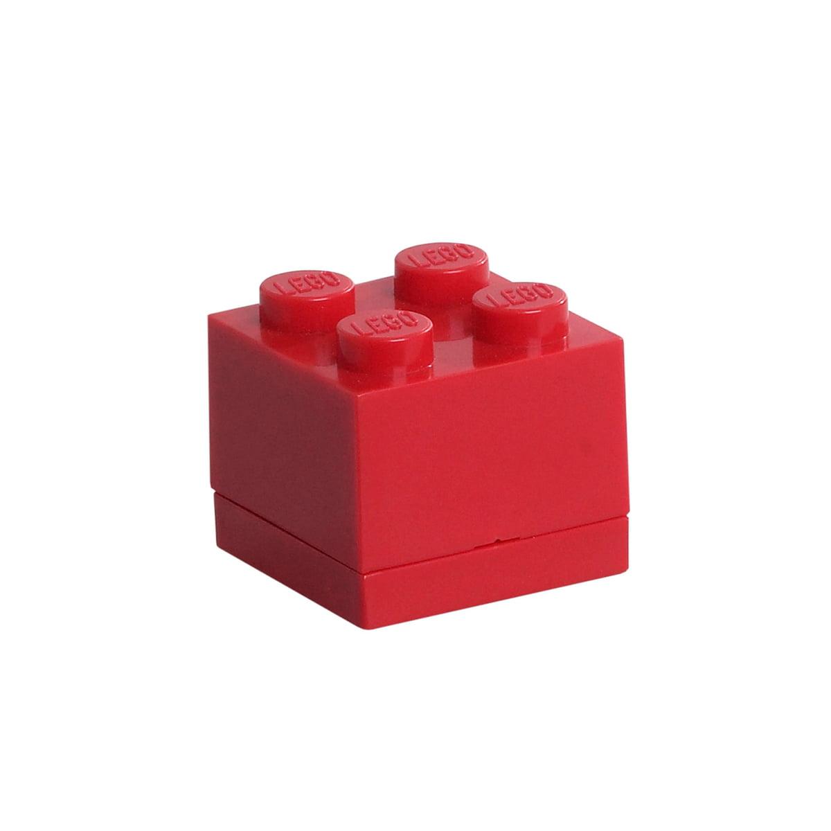 Lego - Mini-Box 4, rot | Kinderzimmer > Spielzeuge | Rot | Polypropylen | Lego
