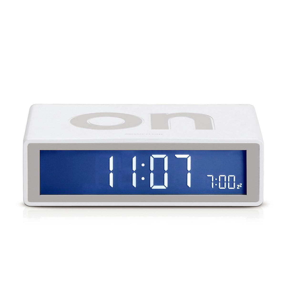 Lexon - Flip2 LCD-Wecker, mastic | Dekoration > Uhren > Wecker | Weiß | Gummi -  abs-kunststoff | Lexon