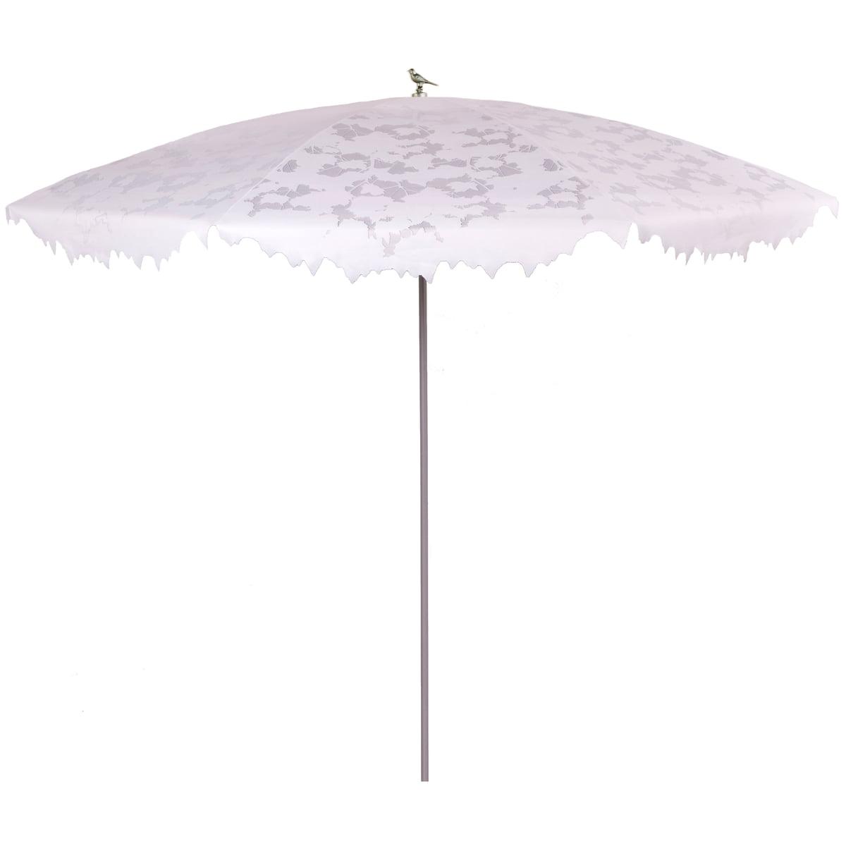Droog Design - Shadylace Sonnenschirm XL, weiß / silber | Garten > Sonnenschirme und Markisen | Droog Design
