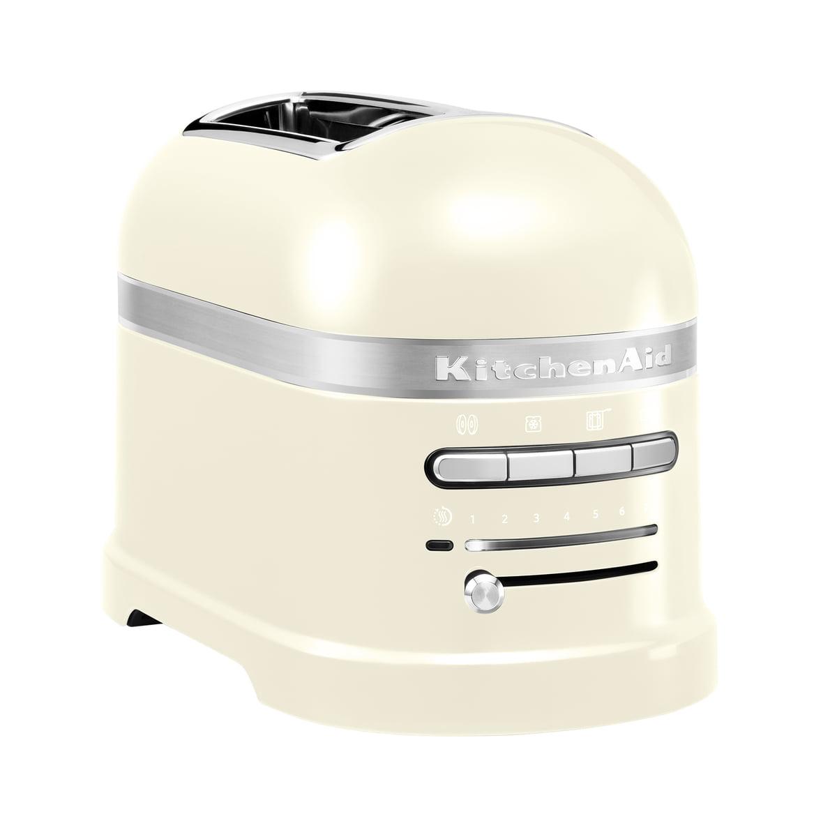 Kitchen Aid KitchenAid - Artisan Toaster 5KMT2204E, 2 Scheiben, créme | Küche und Esszimmer > Küchengeräte > Toaster | Créme | Aluminiumdruckguss | Kitchen Aid