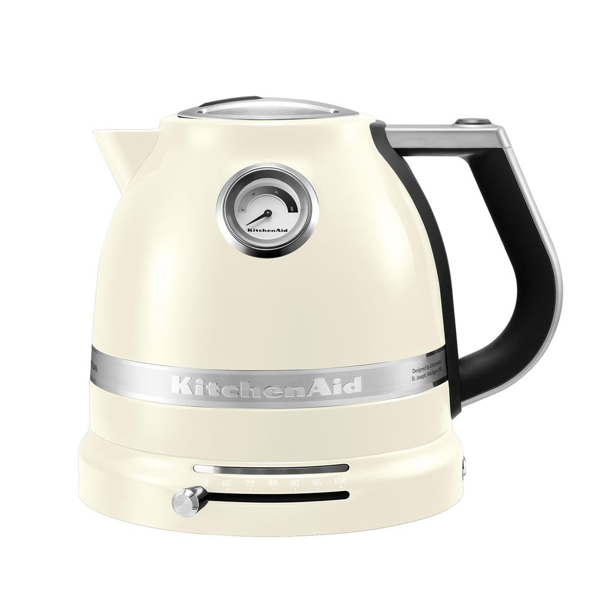 Kitchen Aid KitchenAid - Artisan Wasserkocher 1.5 l, créme | Küche und Esszimmer > Küchengeräte > Wasserkocher | Créme | Gehäuse: aluminium -  innenwand: kunststoff -  innenboden: edelstahl | Kitchen Aid