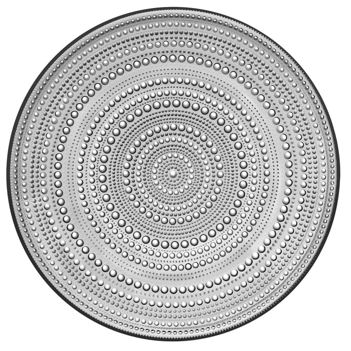 Iittala - Kastehelmi Teller Ø 31,5 cm, grau | Küche und Esszimmer > Besteck und Geschirr | Grau | Iittala