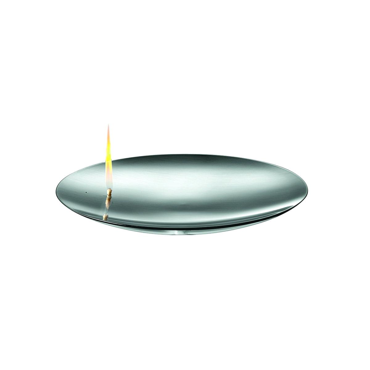 mono concave - Mini Feuerschale, Ø 13 cm | Garten > Grill und Zubehör > Feürstellen | Silber | Mattgebürsteter edelstahl | mono